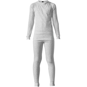 Maier Sports Kim Baselayer Set Kids, silver melange